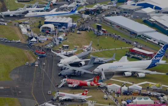 The US Commerce Department has participated in the Farnborough Airshow for decades.