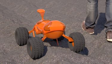 Agribot, Tom is pictured - image courtesy of Small Robot Company.