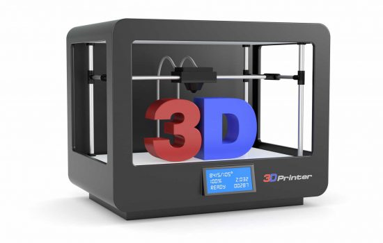 3D printing 3D printer - image courtesy of Depositphotos