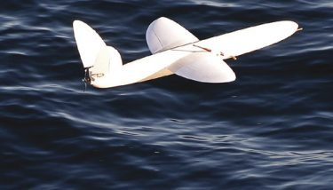 Sulsa (Southampton University Laser Sintered Aircraft) – the World's first fully 3D-printed aircraft was manufactured for the Royal Navy and designed to survive the harsh Antarctic environment. Despite its enhanced design, the use of 3D printing meant that it cost less than conventional drones – image courtesy of University of Southampton.