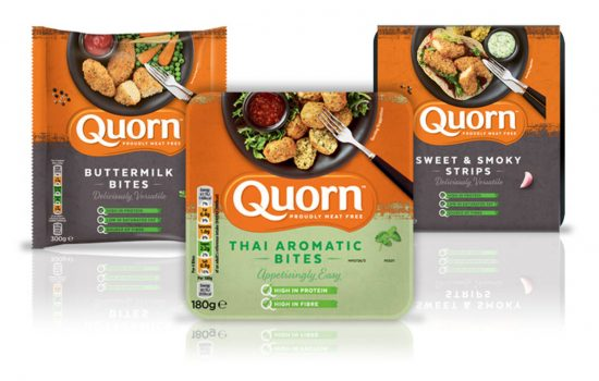 Quorn has been recognised as one of the UK's top 50 FMCG (fast moving consumer goods) brands.