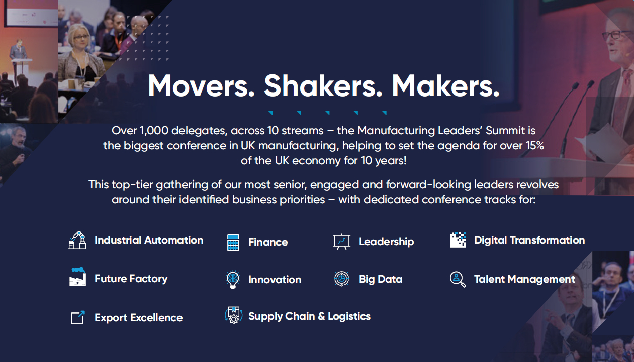 Manufacturing Leaders Summit 2018