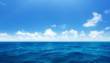 Perfect sky and water of indian ocean - image courtesy of Depositphotos.