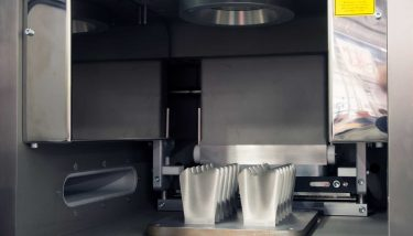 Metal 3D printer (DMLS) Additive Manufacturing - image courtesy of Depositphotos.