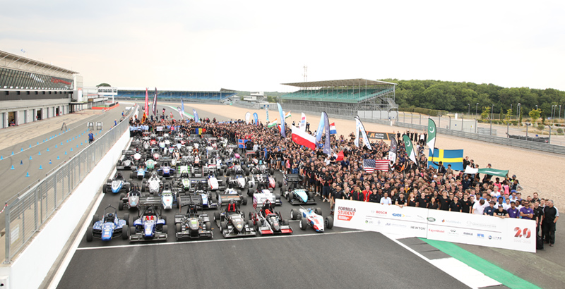 Formula Student saw the brightest undergraduate students from all over the globe build an F1 vehicle from scratch - image courtesy Formula Student