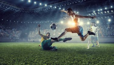 Football Soccer - image courtesy of Depositphotos.