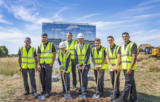 Meggitt launches construction of a new £130m 'super-site' at Ansty Park in West Midlands.