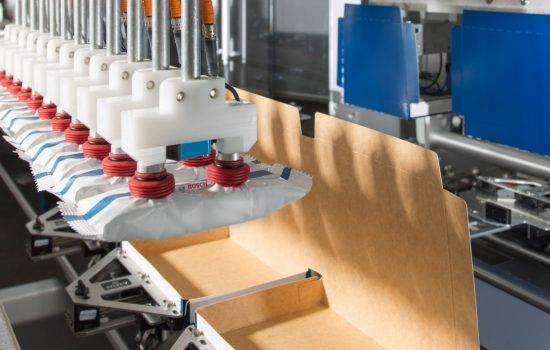 Packaging technology is not part of the group's core business - image courtesy of Bosch.