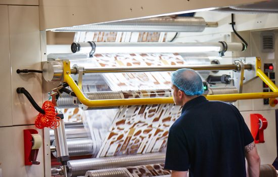The packaging maker has invested £3m in new machinery on the back of a booming order book - image courtesy of Roberts Mart.