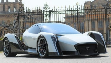 The design of the electric supercar is based on Singapore's national flower, the vanda orchid - image courtesy of Dendrobium Automotive Ltd.