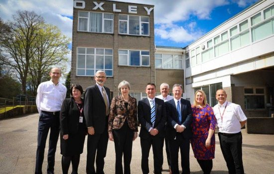 Oxley, LED lighting manufacturer for the aerospace and defence sector, has secured a place on Sharing in Growth (SiG).