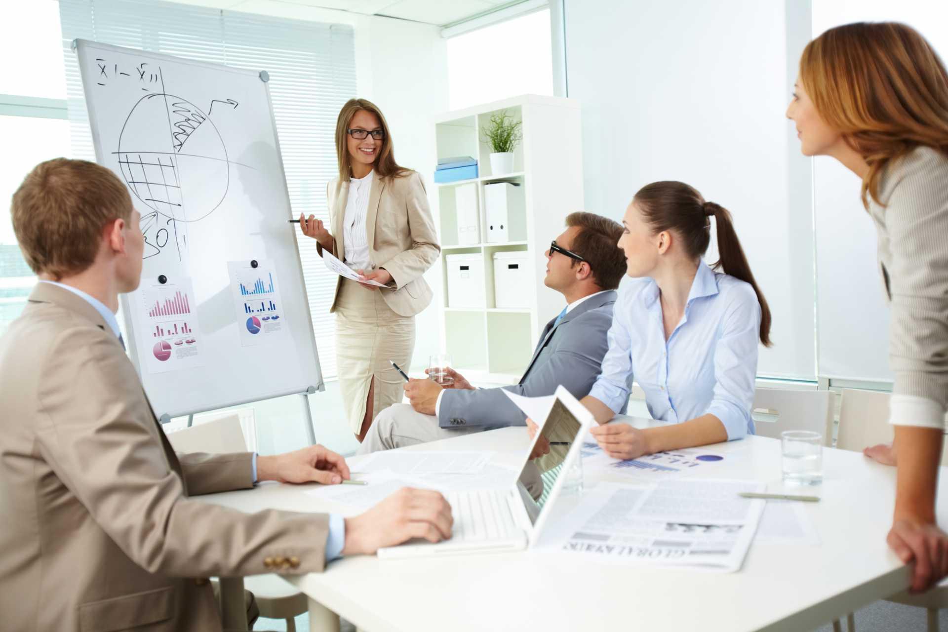 People Management Training Meeting - image courtesy of Depositphotos.