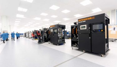 Additive Manufacturing assembly area at Miskin - image courtesy of Renishaw