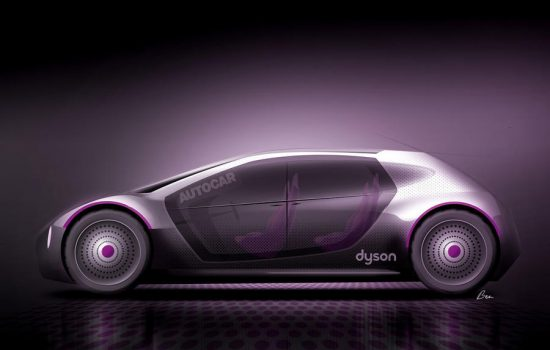 Dyson is now focusing on entering the electric vehicle space - image courtesy of Dyson.