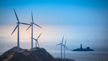 The capacity of offshore windfarms nearly doubled over 2018. Among the new offshore wind farms was the Walney Extension, the largest offshore wind farm in the world - image courtesy of Depositphotos.
