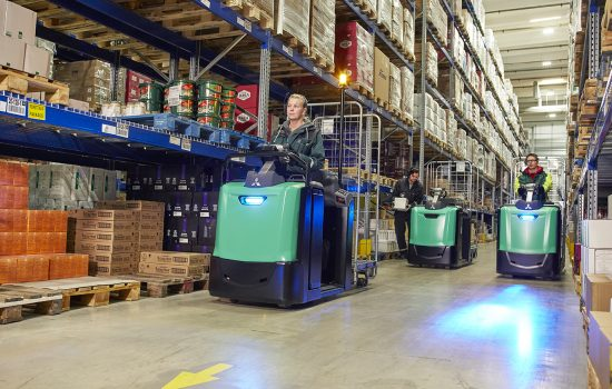 The global forklift truck market is expected to grow year-on-year by at least 100,000 - 150,000 for the next five years – image courtesy of MCFE.