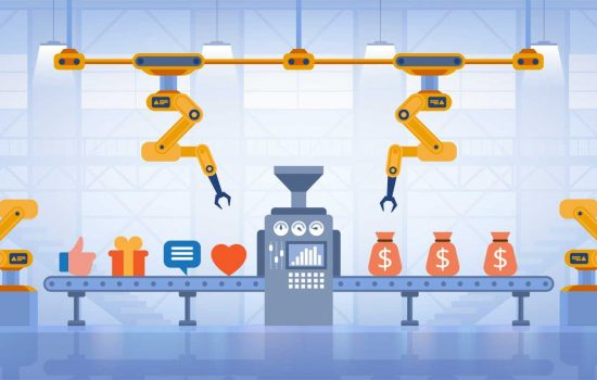 There are many different marketing ideas for manufacturing companies that can turn ideas into revenue - image courtesy of Shutterstock.