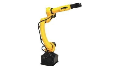 FANUC has unveiled a slimline extension to its new generation of compact, general purpose robots - image courtesy of FANUC.