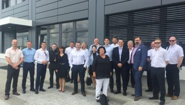 Santander recently hosted a delegation of British automotive businesses on a trade mission to Slovakia - image courtesy of Santander.