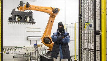 Factory automation - The company invested in Cookie to make their processes more practical, productive and safe. Robot