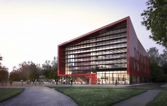 Artist's impressions of the Degree Apprenticeship Centre - image courtesy of WMG, at the University of Warwick.