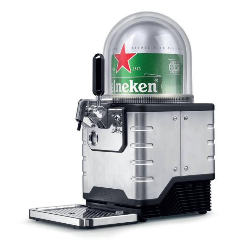Heineken's 'Blade', a countertop draught beer dispenser, benefitted from the open innovation approach.