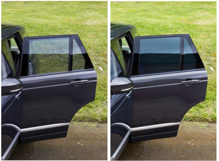 Marchant Cain were the first company to put electrochromic glass into production car.