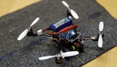 FlyCroTugs can pull objects up to 40 times their weight - image courtesy of Stanford News Service.