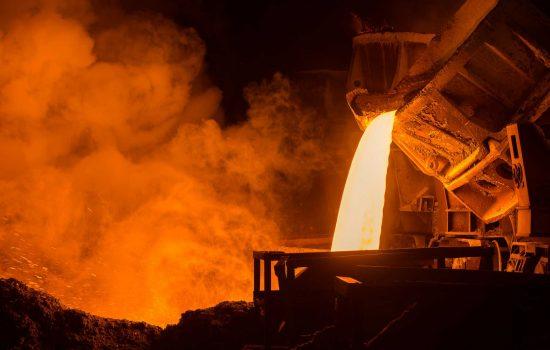 UK Steel plant steel foundry - image courtesy of Depositphotos.