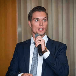 Marijn Ten Wolde - image courtesy of Manufacturing Leaders' Summit