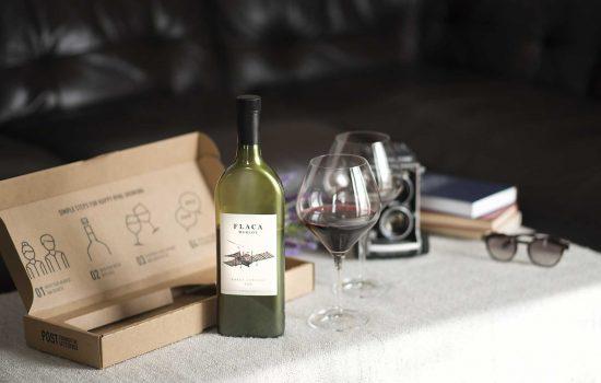 Garçon Wines - Chilean Flaca Merlot near postal box