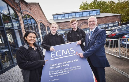 The Black Country Elite Centre for Manufacturing Skills (ECMS) has launched in Wolverhampton.