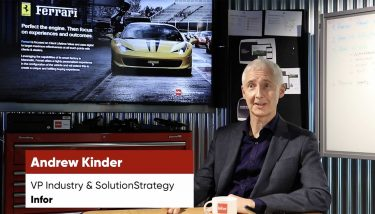 Infor - Video 1 - Andrew Kinder - Thumb - Are UK manufacturing boards in denial when it comes to Digital Transformation?