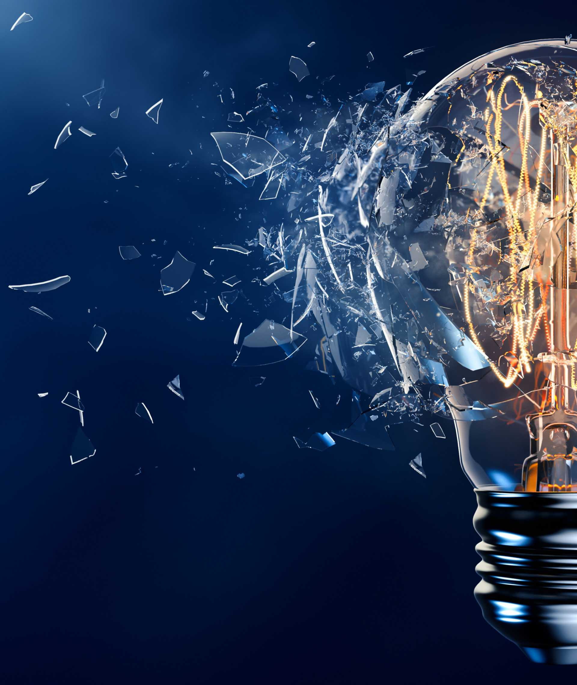 Innovate or Die - Innovation in UK Manufacturing - Stock Image