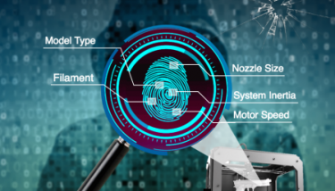 PinTracker could ultimately help intelligence agencies track the origin of 3D-printed guns, counterfeit products and other goods - image courtesy of University of Buffalo.