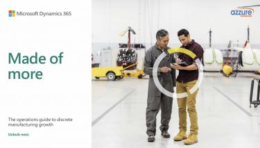 Microsoft Azzure IT e-book - Made of More: The operations guide to discrete manufacturing growth