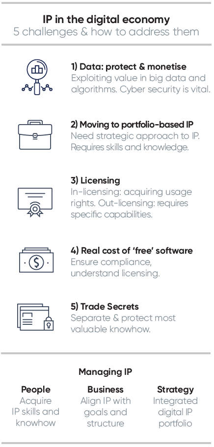 IP in the Digital Economy - Infographic