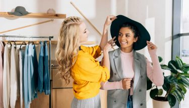 Fast fashion could revive the UK textile sector - image courtesy of Depositphotos.