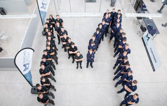 The Marches Centre of Manufacturing & Technology (MCMT) is now training over 60 young people.