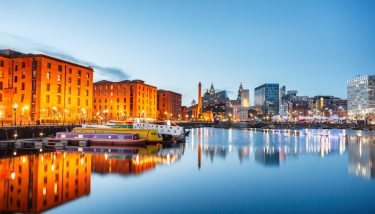 This engagement will be across the five North West Growth Hubs including Liverpool City Region (pictured above) - image courtesy of Depositphotos.