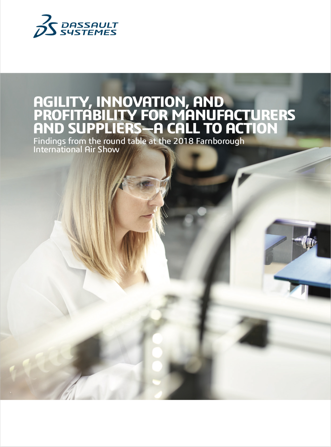 Dassault Systemes whitepaper - Agility, Innovation & Profitability for Manufacturers and Suppliers – A Call to Action