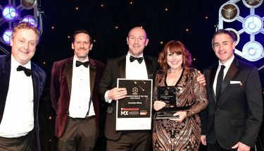 The Manufacturer MX Awards 2018 - (Centre) - Accolade Wines' Richard Lloyd and Alison Beard-Gunter - image courtesy of The Manufacturer.