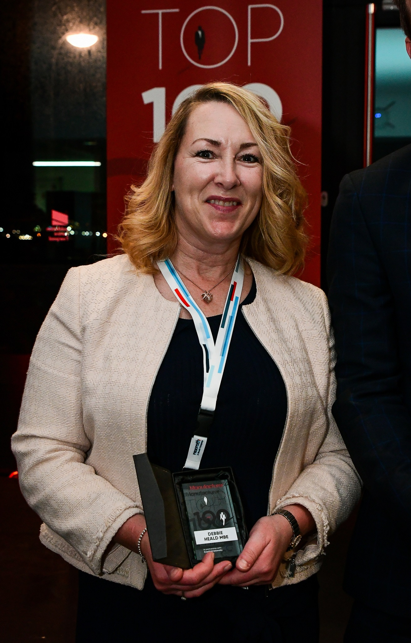 Debbie Heald was named as a Top 100 exemplar in 2018.