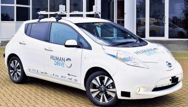 autonomous vehicles - The £14m 'HumanDrive' project aims to develop a humanlike autonomous driving controller by late 2019