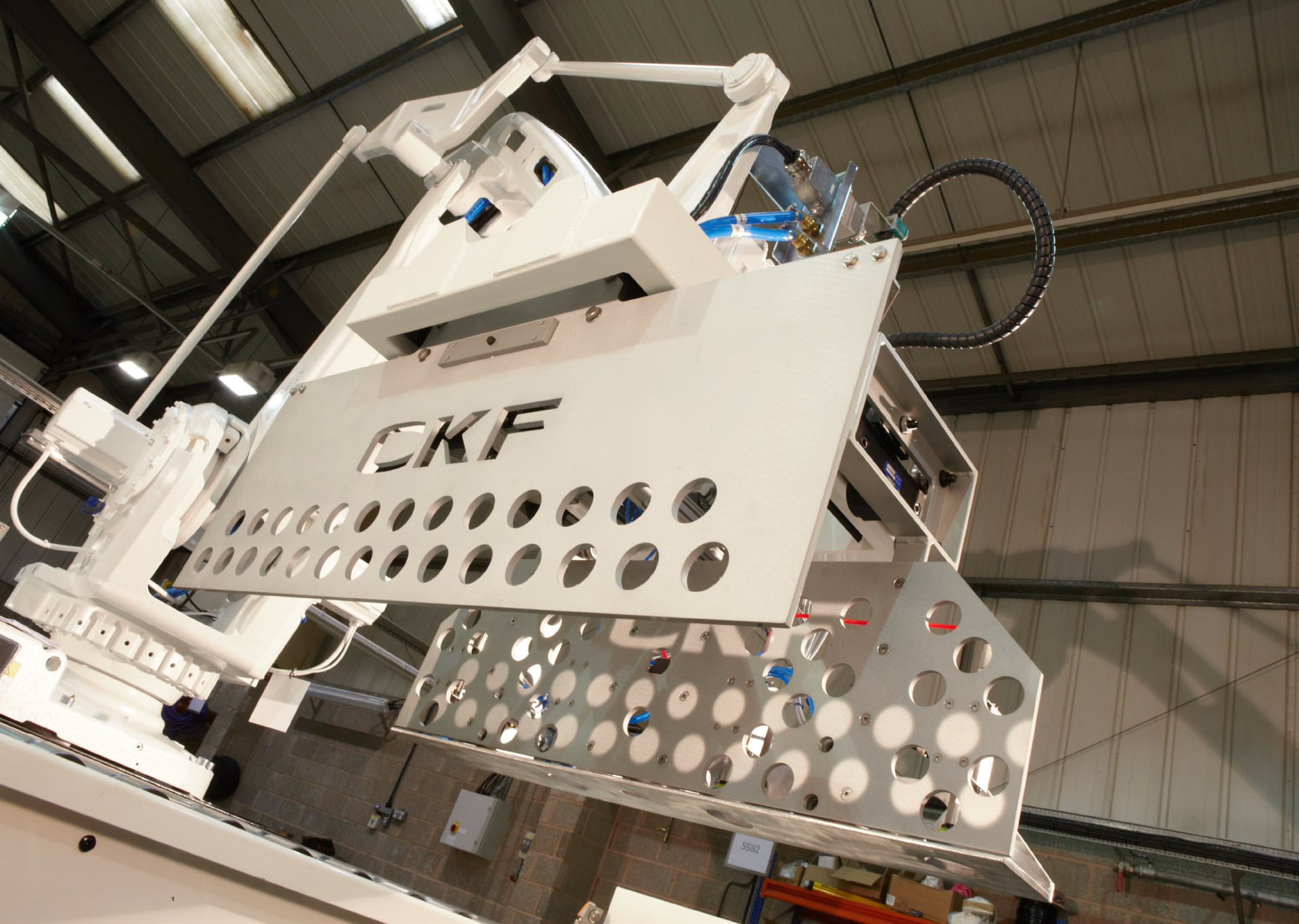 In 2018, CKF Systems are celebrating 30 years of providing robotics and automation solutions to the manufacturing industry.