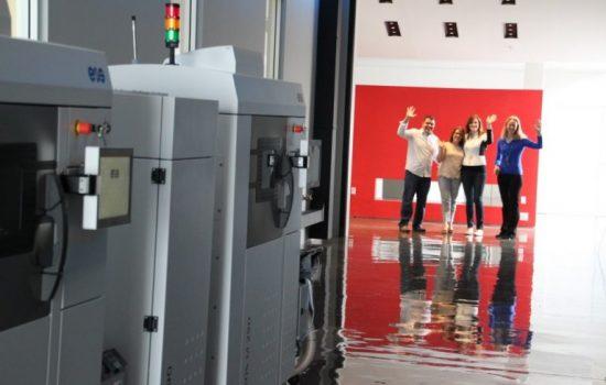 3D printing company Morf3D headquarters El Segundo, California.