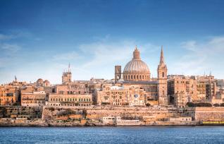 Malta Coastline - Stock image