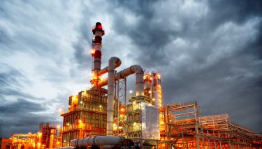 Oil and Gas Processing Plant - image courtesy of Depositphotos