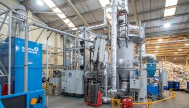 The Swindon facility - image courtesy of Recycling Technologies.