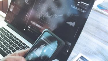 Digitalisation Digital Transformation Technology IT - stock image